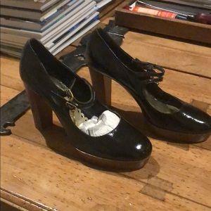Juicy couture platform heels